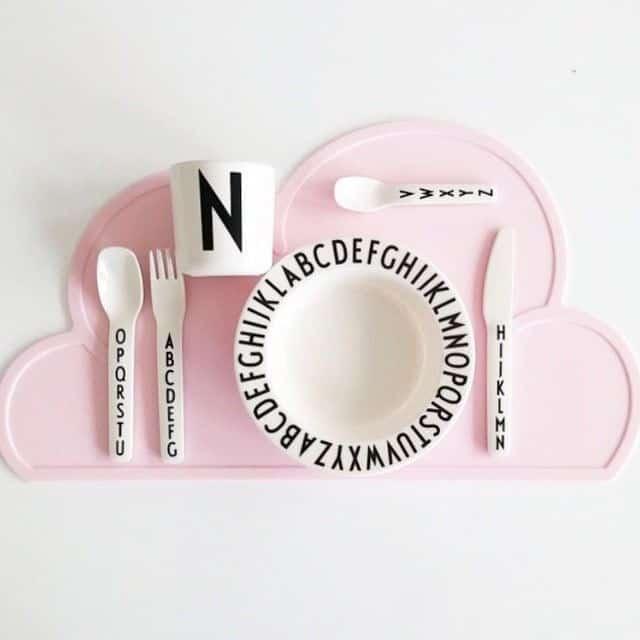 set de table nuage KG design