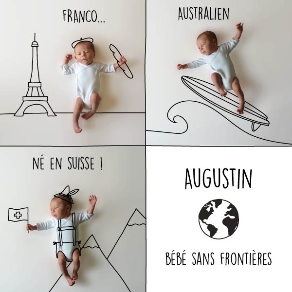 naissance photo et dessin voyage