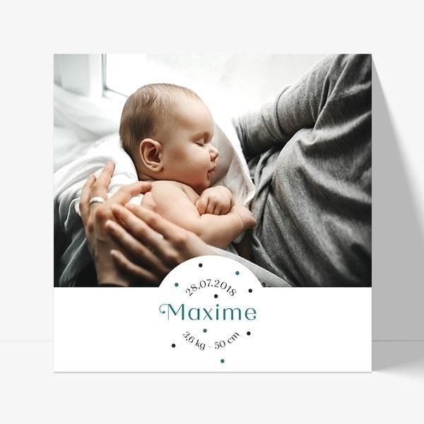 photo et prénom pour annoncer une naissance