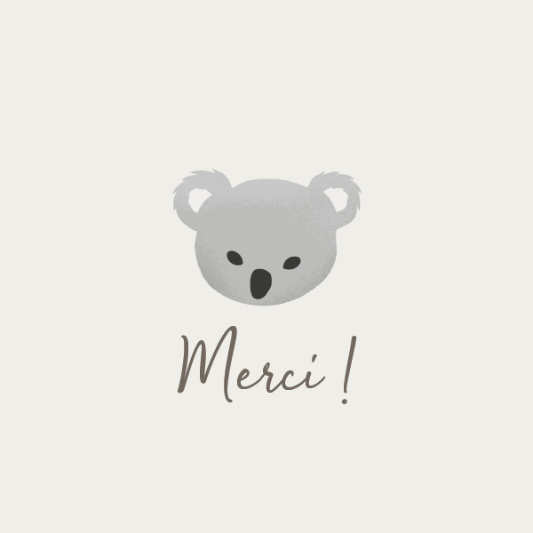carte merci koala